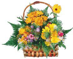 arreglos florales cumpleaños png - Buscar con Google