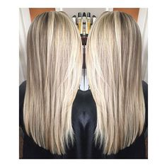 Bright Fall blonde ✨ When you go to Florida in October, you blonde on!