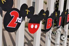 Mickey birthday banner birthday