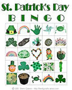 Tons of Free Printable Bingo Cards for Any Classroom or Get-Together
