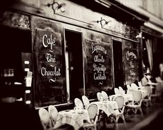 Vintage Paris Cafe -Paris, France