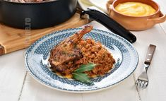 Rata cu varza la cuptor (CC Eng Sub) Carne, Cabbage, Grains, Recipies, Rice, Baking, Foods, Sweets, Recipes