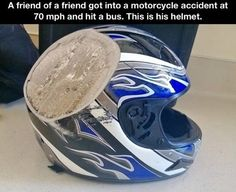 Always wear a helmet.  I have an uncle who died because he refused to wear one.  I don't care if you think that you don't look cool if you don't have one on, ALWAYS WEAR A HELMET WHEN RIDING.