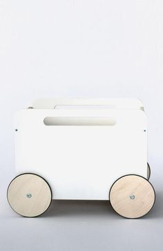 Ooh Noo Toy Chest on Wheels Wooden Play Food, Wooden Toys, Kids Toy Chest, Pull Along Toys, Pram Toys, Baby Gym, Prams, Kids Health, Old Toys
