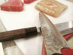 my new toys...  made in Japan  #instagram  #bardacoa #picanha  #carne #amigos #familia  #premium #Angus #delicia #parrilla #carnes #ancho #brahma #instafood #foodporn #foodgram #likeforlike #like4like #instamood #food #foodie  #tuna #tataki #China #chef #chefworld #knife #chefknife #japan #japanknife by 144amit