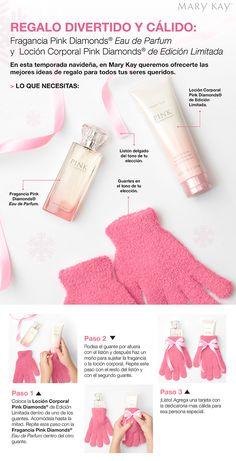 Regalo divertido y cálido :  Fragancia Pink Diamonds® Eau de Parfum y  Loción Corporal Pink Diamonds® de Edición Limitada