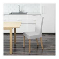 IKEA - HARRY, Sedia, La fodera è lavabile in lavatrice.Ti offre una seduta confortevole grazie allo schienale alto e al sedile con ovatta di poliestere.