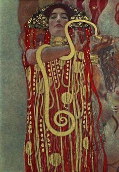 Hygieia, Gustav Klimt 1900-07 Museo: Colección Particular Características: Dim. desc Oleo sobre lienzo