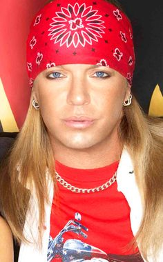 "Bret Michaels (Ok, he's ""pretty""  here! ;) What a ""pretty boy""!!! Yum!!! :) )"