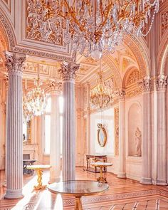 Find images and videos about gold, architecture and aeshtetic on We Heart It - the app to get lost in what you love. Baroque Architecture, Beautiful Architecture, Beautiful Buildings, Beautiful Places, Gold Aesthetic, Classy Aesthetic, Photowall Ideas, Princess Aesthetic, Dream Rooms