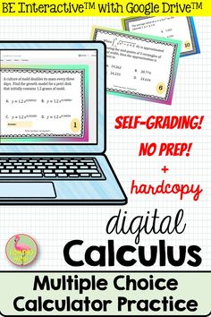 There are just 4 things your Calculus students need to be able to do with a calculator on the AP Calc Exam. Give them that challenging practice with this set of 30 task cards. It's very helpful for test prep at the end of the year. Secondary Resources, Secondary Teacher, Teacher Resources, Math Teacher, Math Classroom, High School Subjects, Ap Calculus, Ap Exams, We Are Teachers