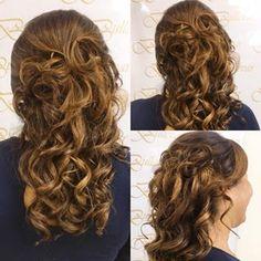 penteados, penteados para madrinhas Long Hair Styles, Instagram, Hair Ideas, Hairstyles, Inspiration, Beauty, Bedroom Cupboards, Party Hairstyles, Hair