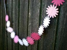 Blooming Flowered Bunting for Your Wedding Day  by decoraland, €6.99