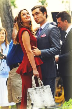 Chuck and Blair forever. I wish I lived in the Upper East side with the one I loved and dressed like them! #gossipgirl