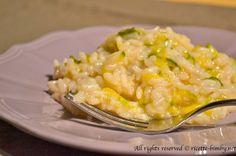 Risotto di zucchine al profumo di limone #bimby