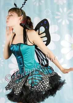 to turn my pettiskirt into this.. only monarch colors.....
