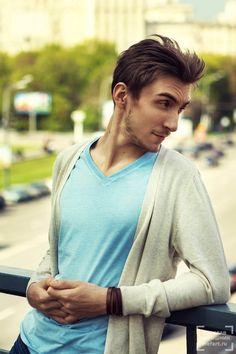 мужская фотосессия на улице в москве