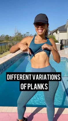 fabiana_ferrarini on Instagram: Let's get it girls! Here's some options to spice up your planks! 🔥 . Planks improves body balance and posture. Strengthens your core,… Flat Abs Workout, Spice Things Up, Plank, Instagram, Planks, Flat Stomach Workouts