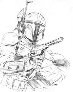 fett sketch