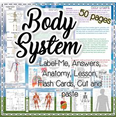 This download is great for the Body Systems topic.  It includes:  -Flash Cards  -System anatomy  -System Labeling  -Quiz  All in 50 pages!