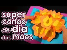 Super cartão para o Dia das Mães (origami) - YouTube