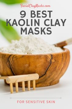 Each of our recipes is unique.  Plus we only use ingredients that are proven to benefits your skin. The science of clay for your skin is actually pretty neat to cleanse impurities from your skin.  We combine these clay benefits with lots of antioxidant, vitamins and minerals in the BEST 9 Kaolin Clay mask recipes   #kaolin #clay #mask #recipes #diy #kaolinclay #whiteclay #powder #homemade #recipe #vitamins #skincare #antioxidant #antiaging #sensitive #allskintype #oily #combination