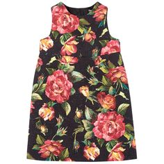 Mini Me logo flower print dress