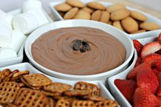 Brownie Batter Dip ~ Stick a Fork In It...alter a few ingredients