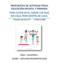 Actividades físicas infantil y primaria para trabajar dentro de casa Running, Home, Cooperative Games, Teaching Strategies, Calisthenics, Keep Running, Why I Run, Lob