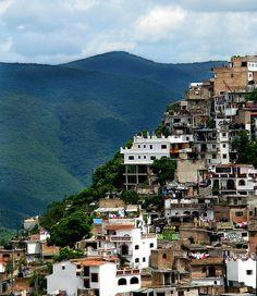mountain side village near Mexico City