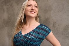 Crochet Pattern PDF Noelle Top sizes XS to L door ElevenHandmade