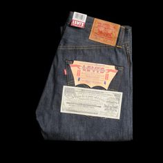 Levis LVC 1947 501XX (Made in USA). --a pair of these ARE going to end up in my wardrobe.