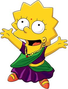 The Simpsons-iyers from #India