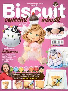 Artesanato - Biscuit : COL BISCUIT ESPECIAL 024 - Editora Minuano