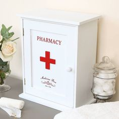 wooden first aid cabinet by dibor | notonthehighstreet.com