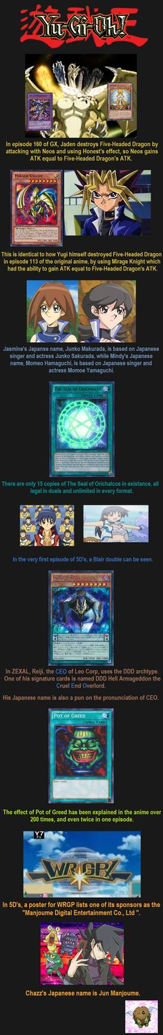 Yugioh Facts 11 // tags: funny pictures - funny photos - funny images - funny pics - funny quotes - #lol #humor #funnypictures