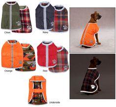 Nor'easter Blanket Dog Coat, L $32.95