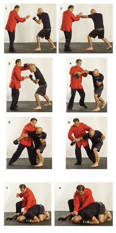 Wing chun grandmaster William Cheung demonstrates how to maintain a balanced stance.