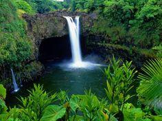 Rainbow Falls, Big Island HI