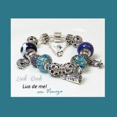 No mês das noivas, criamos esta pulseira em homenagem às recém-casadas. #noivas #casamento #luademel #charms #berloques #pingentes compatíveis com #pulseira #vivara e #bracelete #pandora