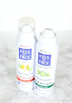 Kiss My Face Quick Dry Spray Deodorant Review