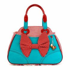 Buy Irregular Choice shoes, boots, handbags and jewellery online. View the biggest and best Irregular Choice collection here. Pin Up Vintage, Vintage Girls, Lady Like, Aqua, Turquoise, Large Handbags, Vintage Handbags, My Bags, Purses And Bags