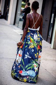 pinterest great african style | African Fashion,  Great dress, love the back detail.