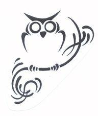 Option for an owl tat