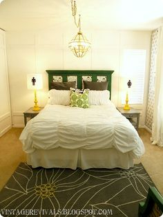 "You've really got to see the ""before""! This bedroom makeover is amazing."