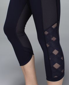 These multi-purpose crops are our new gym (and boot camp) hero. Smooth Luxtreme® fabric keeps us comfortably supported while strategically placed Mesh panels help us let off steam.
