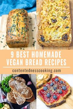 These 9 Best Homemade Vegan Bread Recipes show you how easy it is to fill your kitchen with the aromas of freshly baked bread. Hassle-free, gluten free.