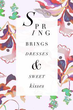 Spring brings...