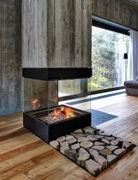 Image result for timber clad fireplace