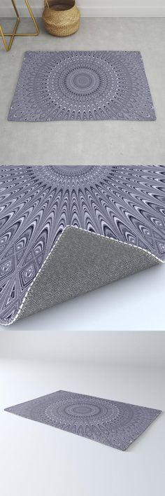 Silver Mandala Rug by David Zydd #MandalaRug #BestRugs #Pattern #Society6 #Ornament #Abstract #MandalaHomeDecor (tags: mandala, design, interior, geometrical, silver, abstract, home decoration, meditation, chakra, product, artwork, mandala pattern, rug, designer, designer rug, room, boho decoration, art, relaxing, geometric) Mandala Art, Mandala Pattern, Sacred Geometry, Cool Rugs, Accent Pillows, Boho Decor, Bedroom Decor, Art Prints, Interior